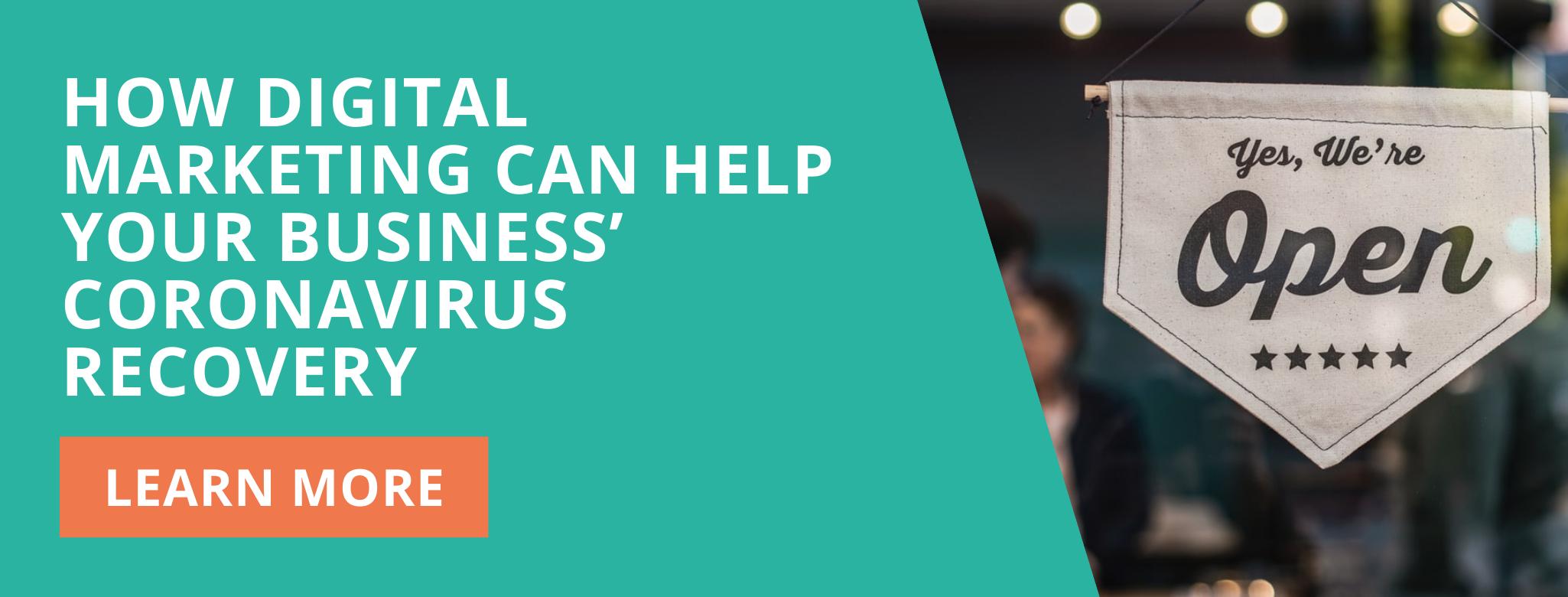 How digital marketing can help business coronavirus recovery Ducard blog